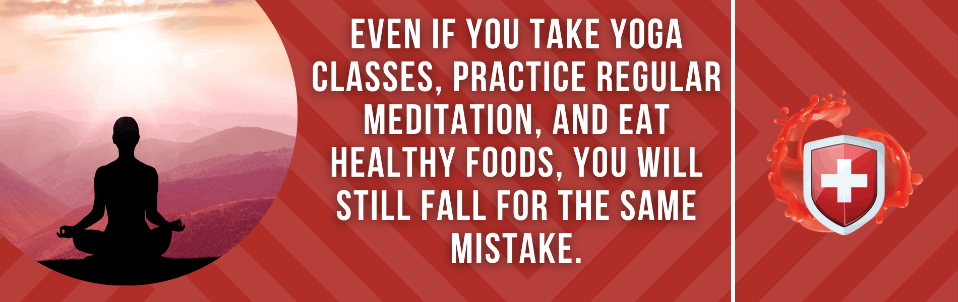 Mistakes made by most health conscious people