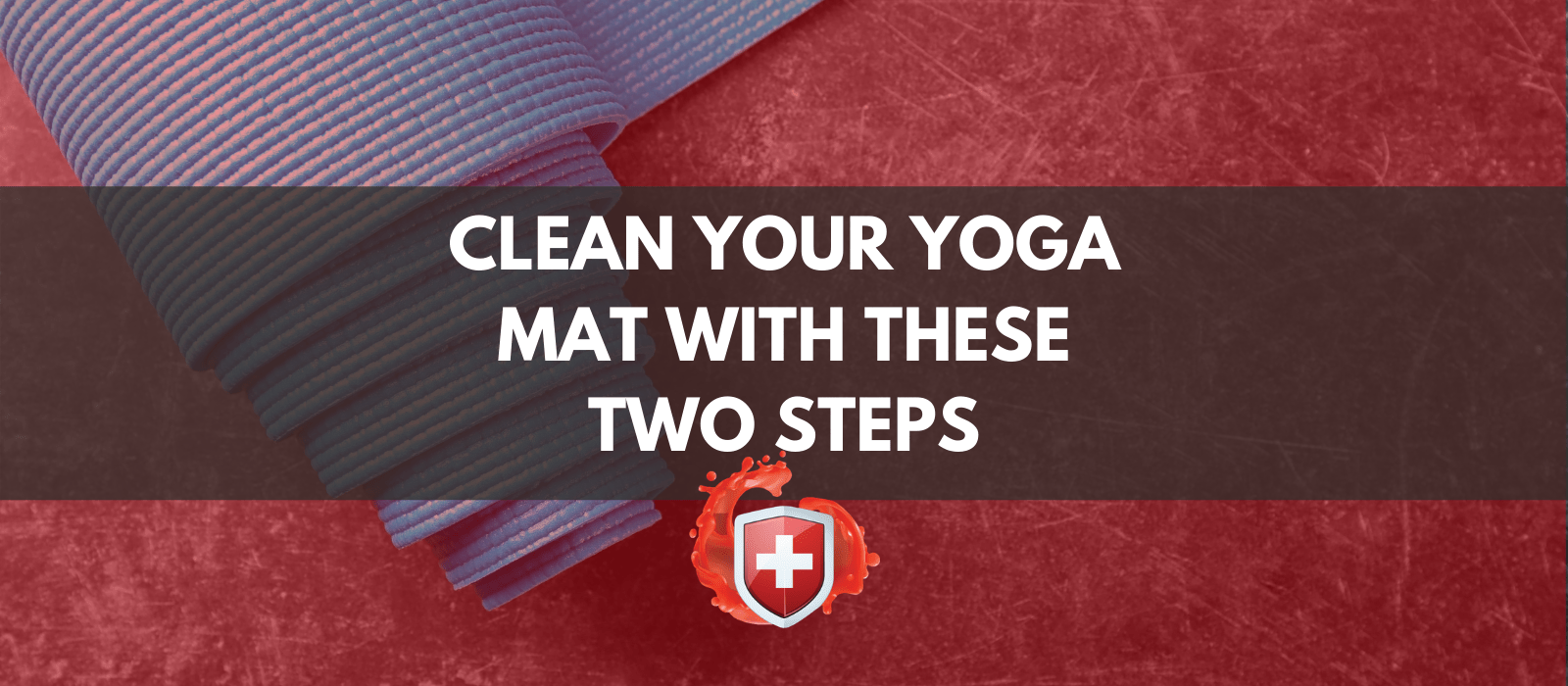 Clean Your Yoga Mat With These Two Steps